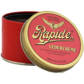 Rapide Leather cream black